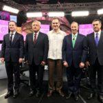 Con mensajes finales concluye último debate de candidatos presidenciales