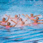 Colombia, Brasil y Argentina llenan podio de natación artística por equipos