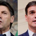 Conte y Sánchez acuerdan fortalecer aún más la relación entre Italia y España