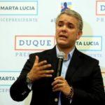 Duque dice que trabajará con Fiscalía colombiana para derrotar narcotráfico