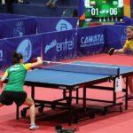 Equipos femenino y masculino de Brasil se llevan el oro en el tenis de mesa