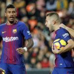 """Jordi Alba: """"Nos faltó el gol, pero tenemos calidad de sobra para marcar"""""""
