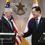 "Mattis: ""Suspender las maniobras nos da fuerza para negociar con Pyongyang"""