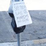 Constantes robos a parquímetros de la capital