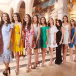 Se presentaron las guapas candidatas a reina de la FENADU 2018