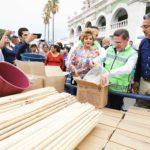 Se benefician los 39 municipios con apoyos del Fonden