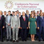 López Obrador y gobernadores delinearán en septiembre Presupuesto 2019