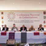 López Obrador se reúne con gobernadores integrantes de la Conago
