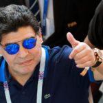 Maradona pide disculpas a la FIFA por sus declaraciones contra árbitros