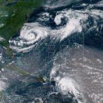 El huracán Chris sube a categoría 2 mientras se aleja de la costa de EE.UU.
