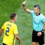 El lateral sueco Lustig, suspendido para los cuartos de final