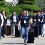 Equipos de baloncesto surcoreanos viajan a Pyongyang para jugar amistosos