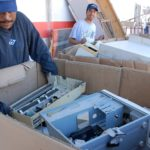 Contenedores para basura electrónica y baterías usadas en La Esperanza, Gómez Palacio
