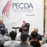 Se presentan a los medios de comunicación las becas del PECDA