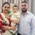 Bautizaron al pequeño Marco Alejandro Mares Reyes