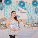 """Diana Alanís Bañuelos y Javier Nevárez Ramírez disfrutaron de un hermoso """"baby shower"""""""