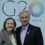 Calviño destaca en G20 que el comercio ha ayudado a España a dejar la crisis