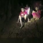 El descenso de las inundaciones da esperanza al rescate de niños en Tailandia