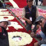 El récord Guinness de rosas en Ecuador tendrá que esperar una semana