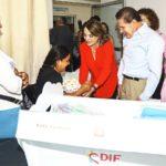 DIF Estatal continúa trabajando en la entrega de cunas