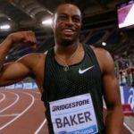 Baker se impone en una final de 100 metros marcada por la lesión de Coleman