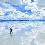 Francés ciego recorrerá a pie 140 kilómetros del salar de Uyuni en Bolivia
