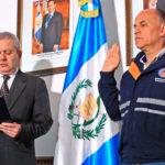 Gobierno de Guatemala juramenta al nuevo subsecretario de reducción de riesgo