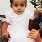 Bautizaron a la pequeña Leonora Quiñones Venegas