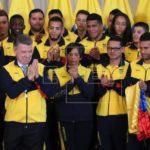 Santos despide a los deportistas que participarán en Juegos Centroamericanos