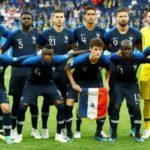 Francia jugará de azul oscuro, Croacia con su camiseta ajedrezada