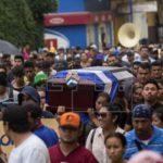 Sepultan a un agente víctima de las protestas contra el Gobierno de Nicaragua