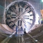 Tuneladora llega al centro histórico de Quito en la construcción del metro