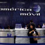 Utilidad de América Móvil cae 94,3 % interanual en segundo trimestre de 2018