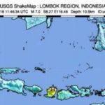 Un seísmo de magnitud 7 causa un pequeño tsunami en Indonesia