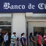 Banca chilena gana 2.249 millones de dólares entre enero y julio de 2018