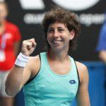 Carla Suárez accede a octavos tras la retirada de Lesia Tsurenko