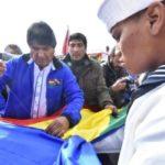 Evo Morales asegura que la bandera de Bolivia ondeará pronto en el Pacífico