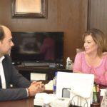 Leticia Herrera logra acuerdos con nuevo Secretario de Turismo Eleazar Gamboa