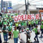 Miles de dominicanos marchan por justicia en el caso de corrupción Odebrecht
