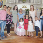 La linda Renata Ruiz dio gracias a Dios por sus tres años de vida