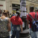 """Sindicatos brasileños protestan contra desempleo y la """"persecución"""" de Lula"""