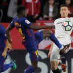 Ter Stegen y Dembelé, en el once del Barça; Muriel, titular en el Sevilla