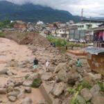 Alerta roja por inundaciones en la ciudad de Mocoa, en el sur de Colombia