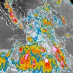 Esperan lluvias muy fuertes en Durango para las próximas horas debido a Ileana