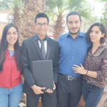 Luis Eduardo Galindo Ramírez se graduó como licenciado de Psicología