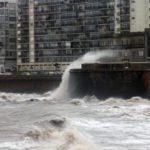Cinco departamentos de Uruguay bajo alerta roja por vientos muy fuertes
