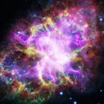 "Revela NASA imagen de ""corazón palpitante"" de nebulosa de cangrejo"