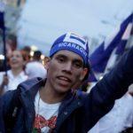 Decenas de nicaragüenses en Costa Rica se manifiestan contra Ortega