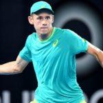 El australiano Alex de Minaur, segundo finalista en el torneo de Washington