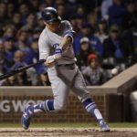 1-12. Hernández y Turner castigan con jonrones a los Dodgers
